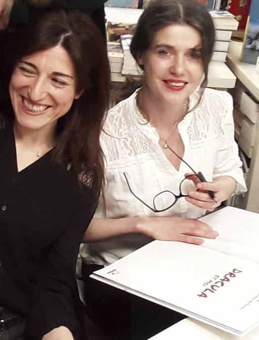 Nathalie Wolff et Elsa Oriol